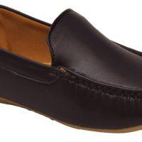 Adjoin Steps LFR-01 Loafers(Brown)