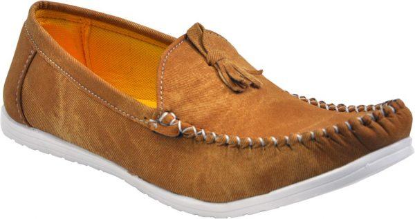 Adjoin Steps LFR-02 Loafers(Brown)