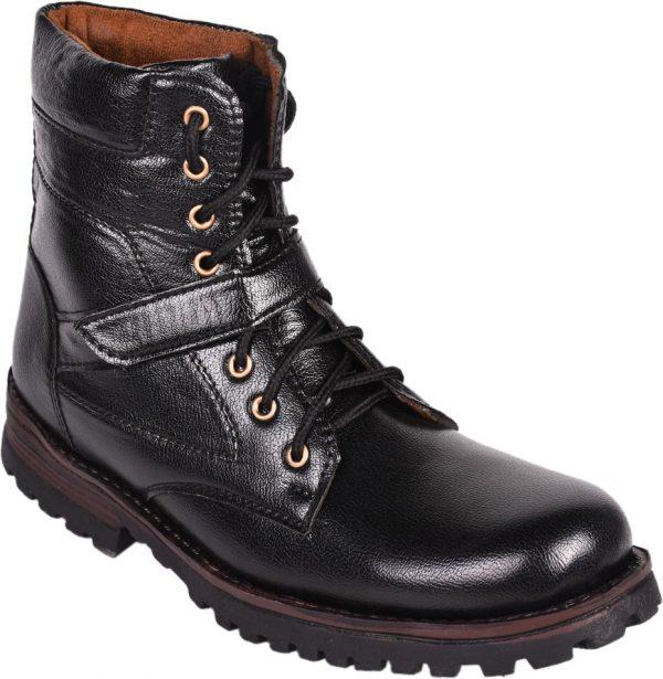 Affican high long Boots(Black)