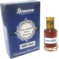 Armaan Amberwood Natural Fragrance Floral Attar(Floral)