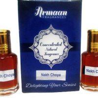 Armaan Nakh Choya ( Two Pcs Set) Floral Attar(Woody)