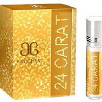 Arochem 24 Carat 555 Kala Bhoot Combo Floral Attar(Musk)