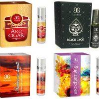 Arochem Amber ae hyatt Aro Charming Aro cigar Black Jack Combo Floral Attar(Floral)