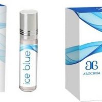 Arochem Ice Blue (Pack of 2) Floral Attar(Musk)