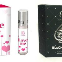 Arochem Love me Black Jack Combo Floral Attar(Floral)