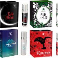 Arochem Romeo Ruh khus Sufiyaana Kala Bhoot Combo Floral Attar(Amber)