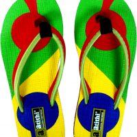 Atithi Girls Red Slipper Flip Flop(Pack of 1)