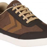 Avante Garde Casual Shoes(Brown)
