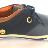 BLK LEATHER Casuals shoe(Blue)