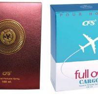 CFS Exotic NYC Bond And Full On Blue Combo Perfume Eau de Parfum  -  200 ml(For Boys & Girls)