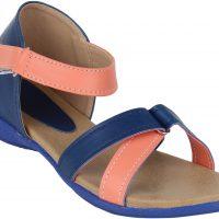 Glitzy Galz Girls Sports Sandals(Pack of2)