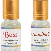 KHSA Boss + Sandhal Herbal Attar(Sandalwood)