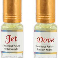 KHSA Jet + Dove Herbal Attar(Floral)