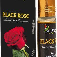 Kazima Perfumers Black Rose Perfume 8 ML Floral Attar(Floral)