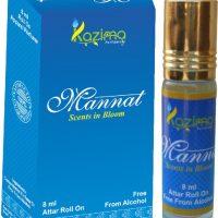 Kazima Perfumers Mannat Perfumes 8 ML Floral Attar(Musk)