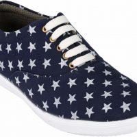 Luckyman Canvas Shoes(Blue)