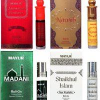 Mayur Islamic Fragrance Gift Set Floral Attar(Islamic Bakhur)