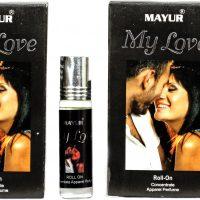 Mayur My Love attar roll on 8ml (pack of 2) Floral Attar(Amber)