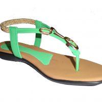 Om Overseas Girls Sports Sandals