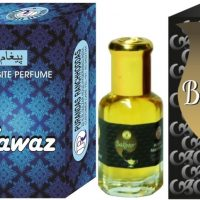 Purandas Ranchhoddas PRS Fawaz & Bakhoor Attar 6ml Each Herbal Attar(Islamic Bakhur)