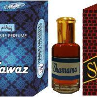Purandas Ranchhoddas PRS Fawaz & Shamama 12ml Each Herbal Attar(Fruity)