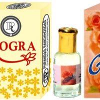 Purandas Ranchhoddas PRS Gulab & Mogra 12ml Each Floral Attar(Floral)