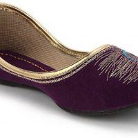 Step India Bellies(Purple)